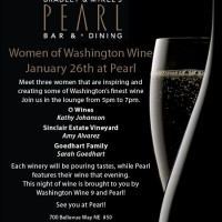 Pearl hosts Women of Washington Wine – Jan. 26